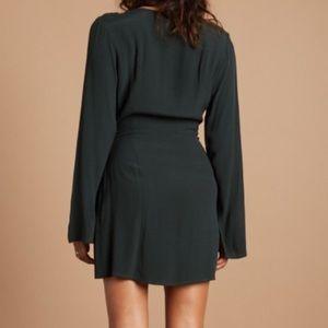Cotton Candy LA Dresses - Green Cotton Candy LA Wrap Dress
